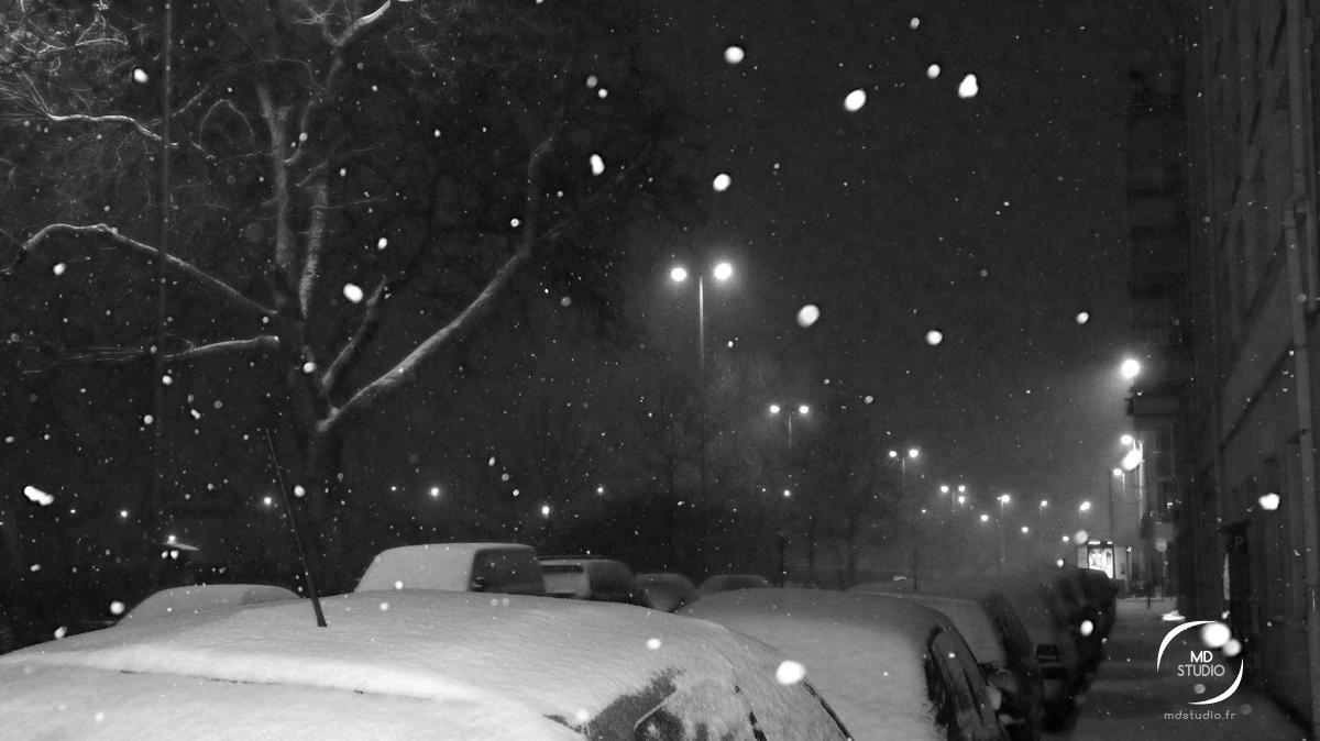 neige à Nantes | MDstudio