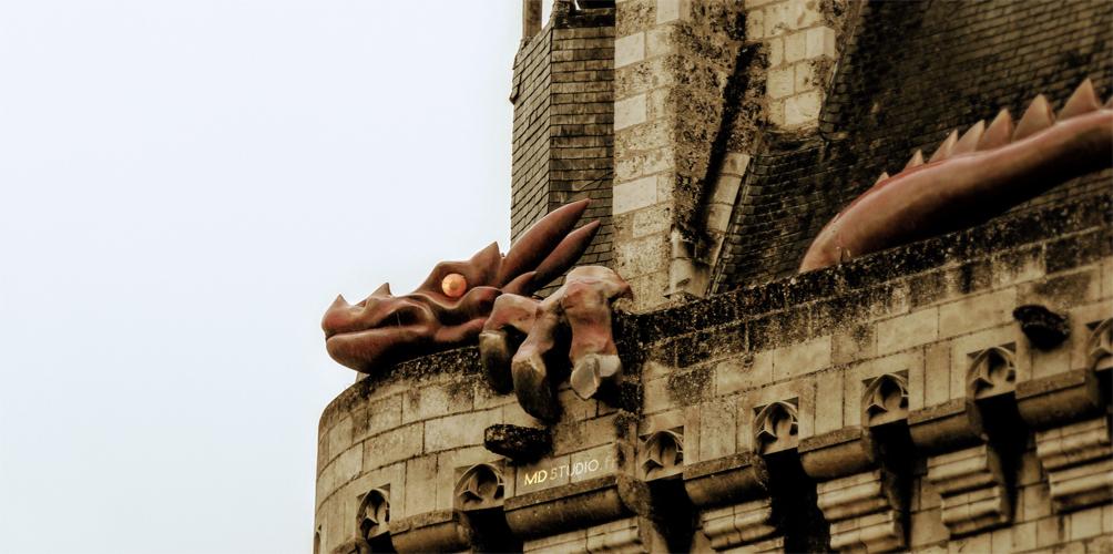 Zoom sur le dragon de Chinon| Forteresse de Chinon 2013 | MDstudio