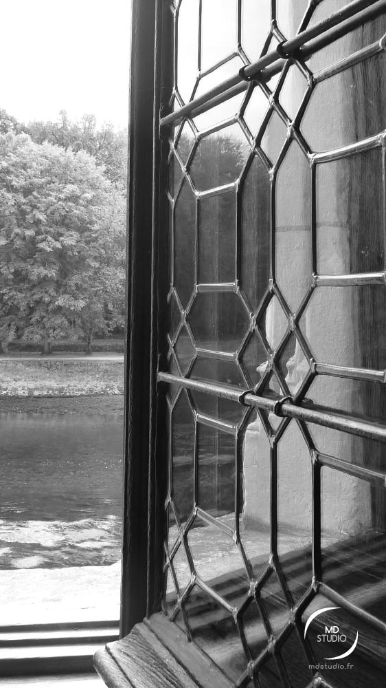 fenêtre ouvragée | Loire à Chenonceau | MDstudio