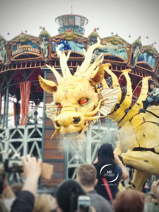 Dragon Long Ma | Machines de l'Île | Nantes | MDstudio