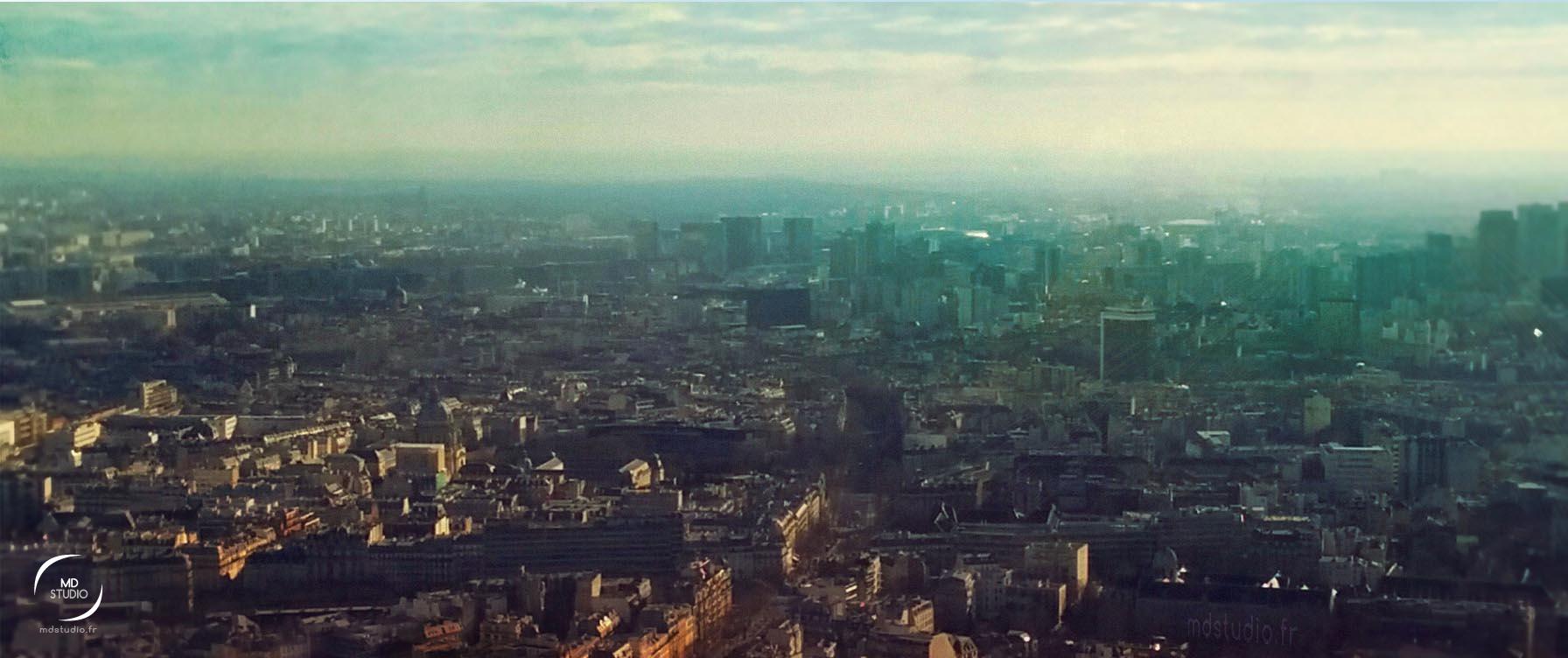 Autre vue | Paris depuis la tour Montparnasse | MDstudio