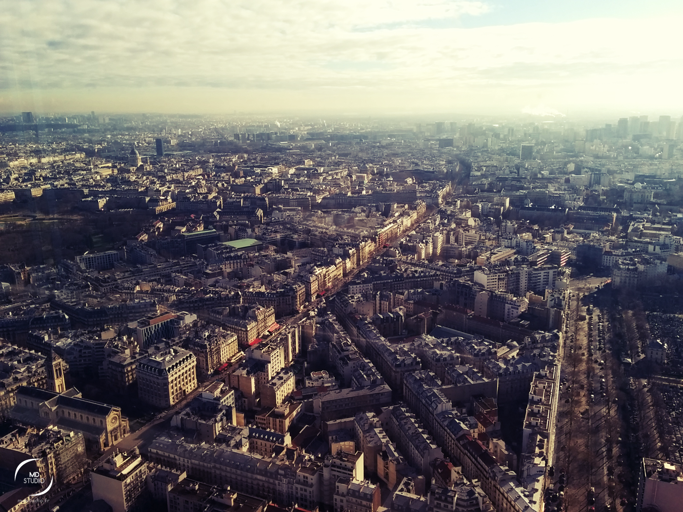 Penché sur la Cité | Paris vue des airs