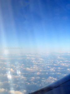bout de carlingue au dessus des nuages