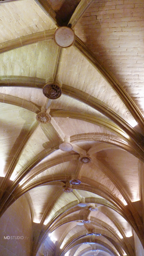 Voûte du vestibule d'entrée | Château de Chenonceau 2013 | MDstudio