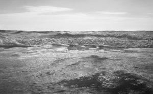 remous à la surface d'un océan !