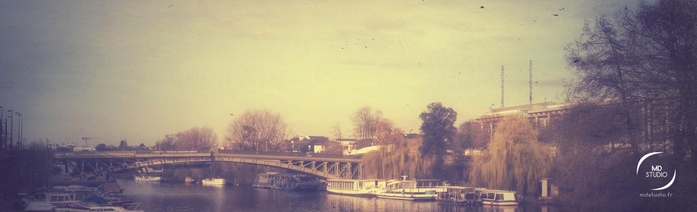 L'Erdre, affluent de la Loire | Nantes | MDstudio