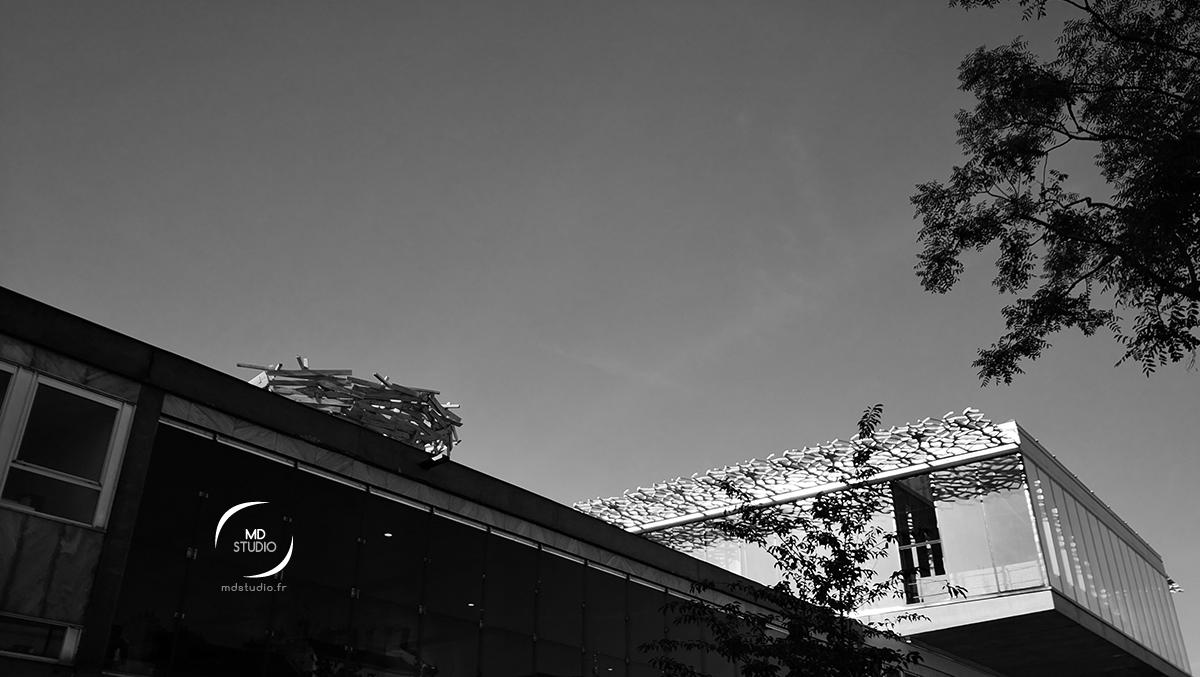 Nid d'hirondelle & Gare Nord de Nantes | photo MDstudio