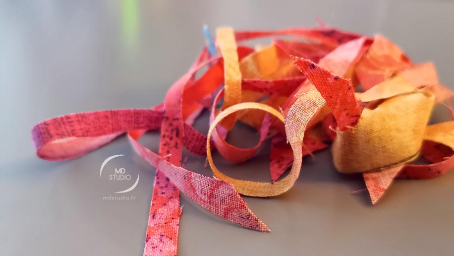 chutes de tissu, couture du quotidien | photo MDstudio